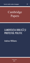 Andrew Williams - Lamentația biblică și protestul politic